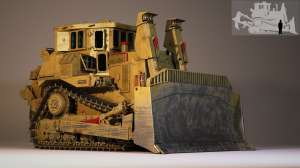 armored bulldozer 1